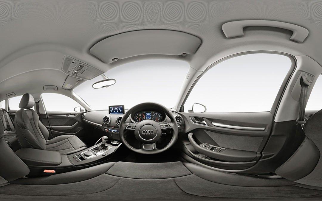 Audi A3 360° interior shot