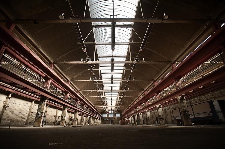 Babcock warehouse, Paris, by Dan Lowe