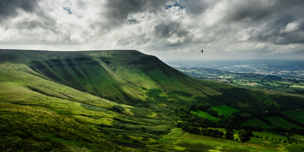 Twmpa or Lord Hereford's Knob part of the Black Mountains by Dan Lowe