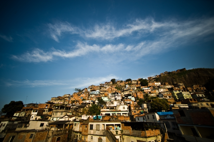 Morro da Providência favela by Dan Lowe