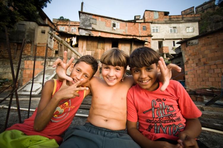 Children of Morro da Providencia, Brazil, by Dan Lowe