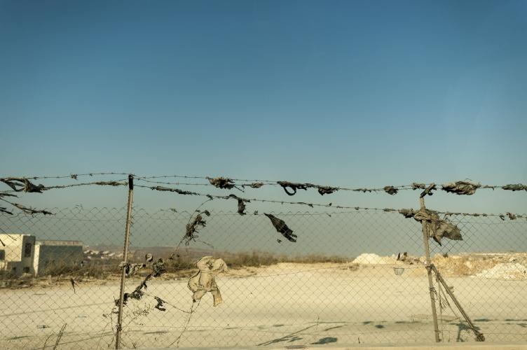 Border of Israel and Palestine by Dan Lowe