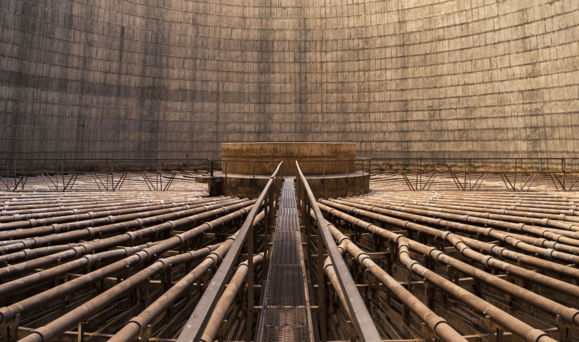 Orlando power station, Soweto, South Africa by Dan Lowe