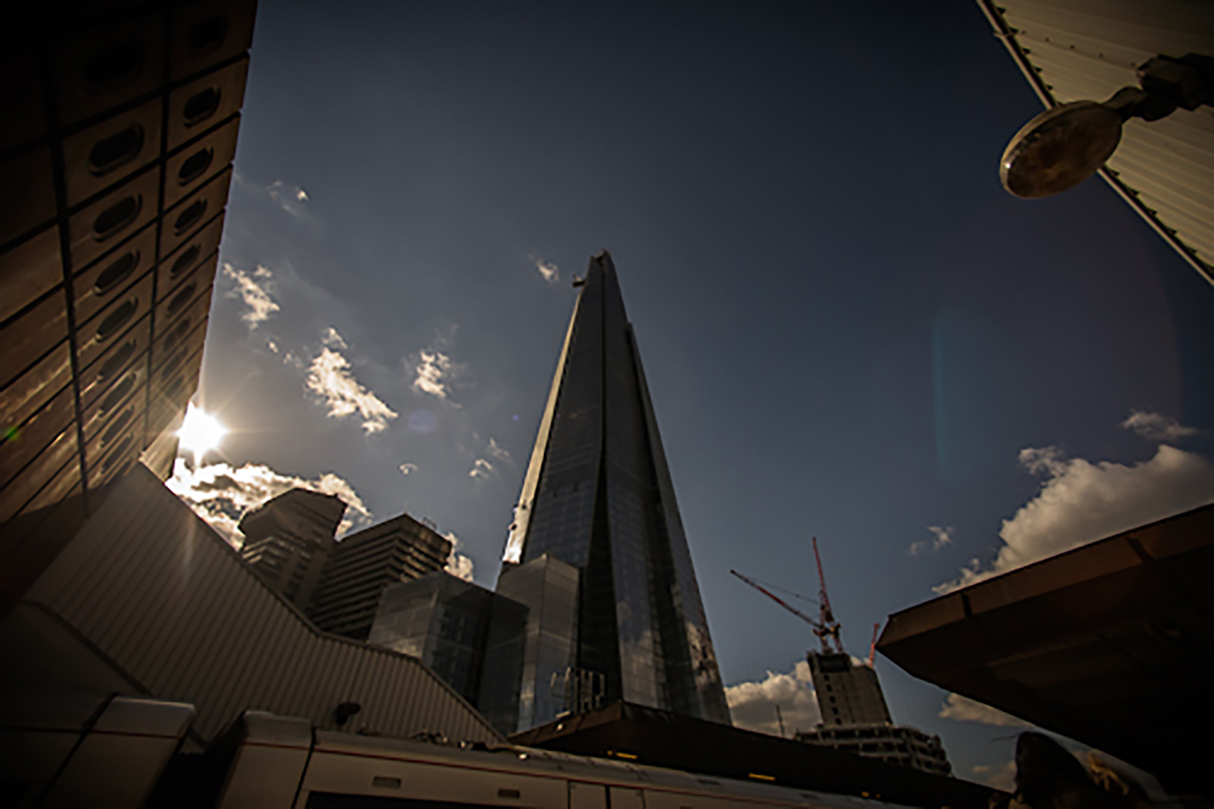 The Shard – Shoot Day One