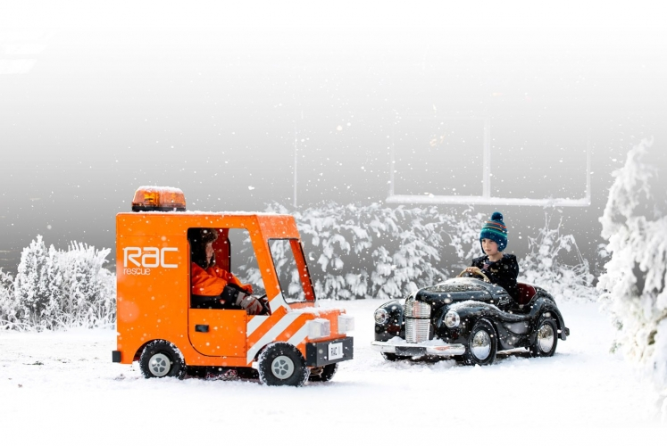 RAC winter campaign for BBH by Dan Lowe