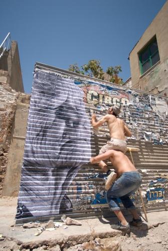 JR project in Cartagena, Spain, by Dan Lowe