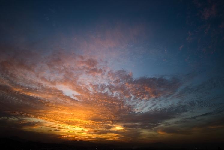 Sunset over Rio de Janeiro by Dan Lowe