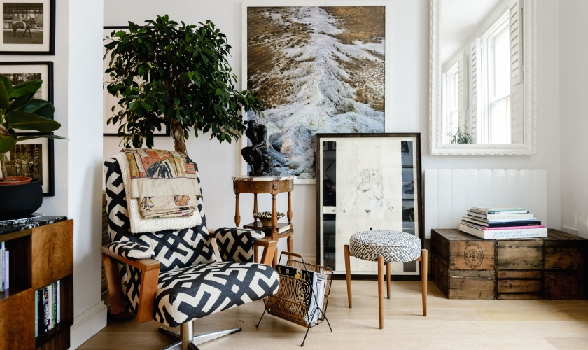 Inside home of Charlie Casely-Hayford by Dan Lowe for Habitat Voyeur campaign